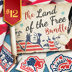 20% OFF The Land of The Free Bundle | ONLY $9.60