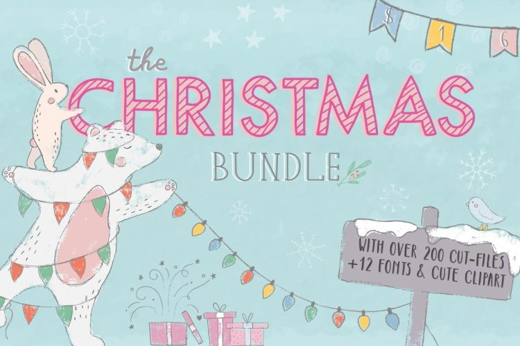The Christmas Bundle, only at CraftBundles.com!