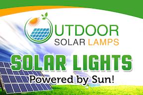 Outdoor Solar Lamps