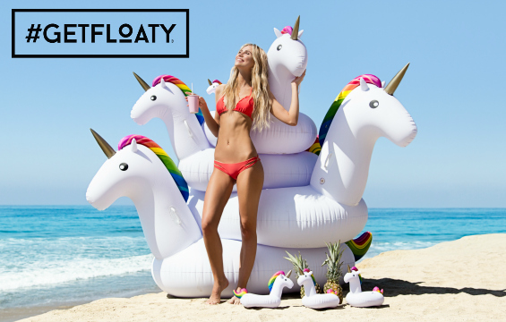 Shop #GetFloaty for Giant Inflatable Pool Toys & More