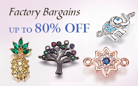 Up to 80% Off for Beads & Jewelry Findings