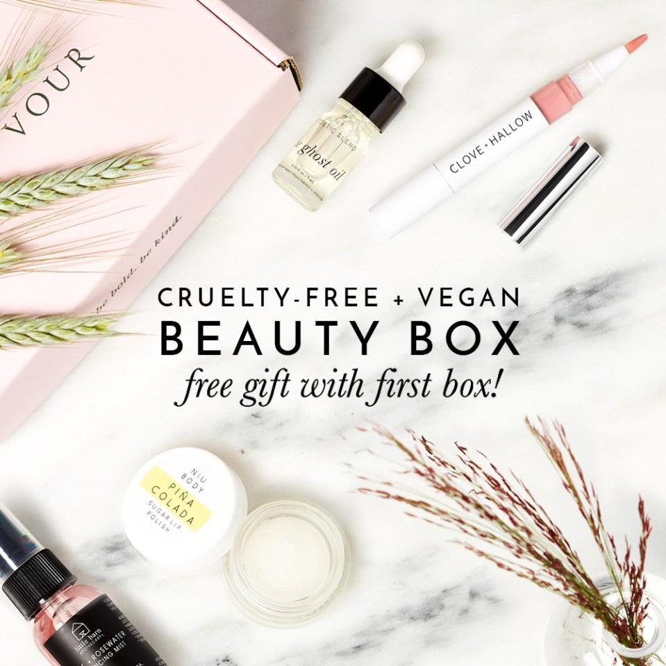 Cruelty-Free Beauty Box