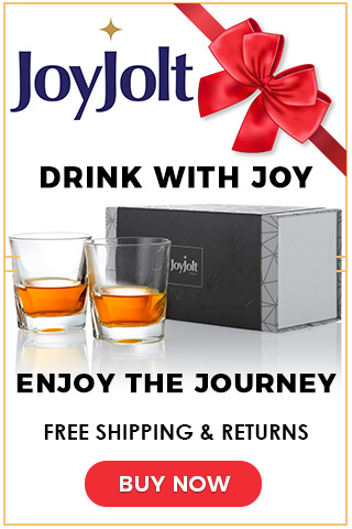 Drink with Joy at JoyJolt.com - Holiday Banner