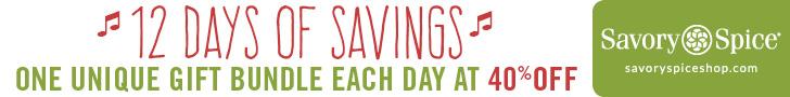 Get 40% off a unique gift bundle each day