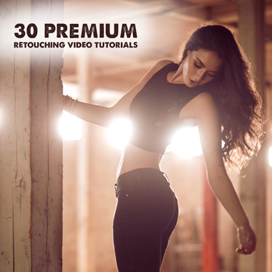 30 Premium Retouching Video Tutorials By Nino Batista