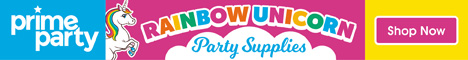 Rainbow Unicorn Party Supplies