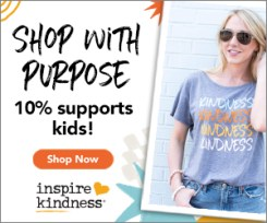 10% Supports Kids Kindness Programs