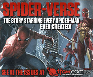 Save 10-20% on Spider-Verse comics and more at TFAW.com!