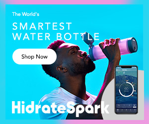 HidrateSpark 3 -- The World's Smartest Water Bottle