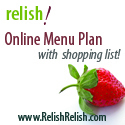 Relish onlnie menu plan
