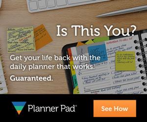 Planner Pads Messy Planner Banner
