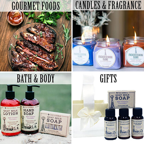 Fredericksburg Farms Products