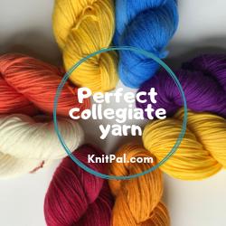 Perfect collegiate yarn