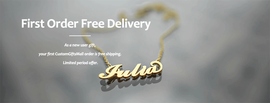 Name Necklace - CustomGiftsMall