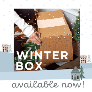 Join the home décor subscription that everyone is talking about. Winter Box on sale now, shipping soon!