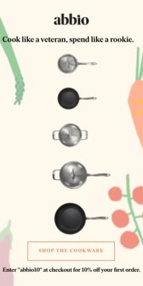 Abbio Cookware essentials