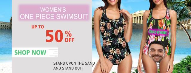UP TO 50% OFF- Women's One Piece Swimsuit