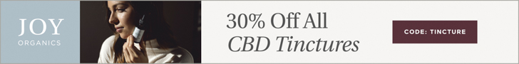 30% off ALL Joy Organics tinctures