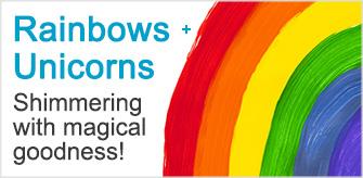Unique Rainbow + Unicorn Gifts