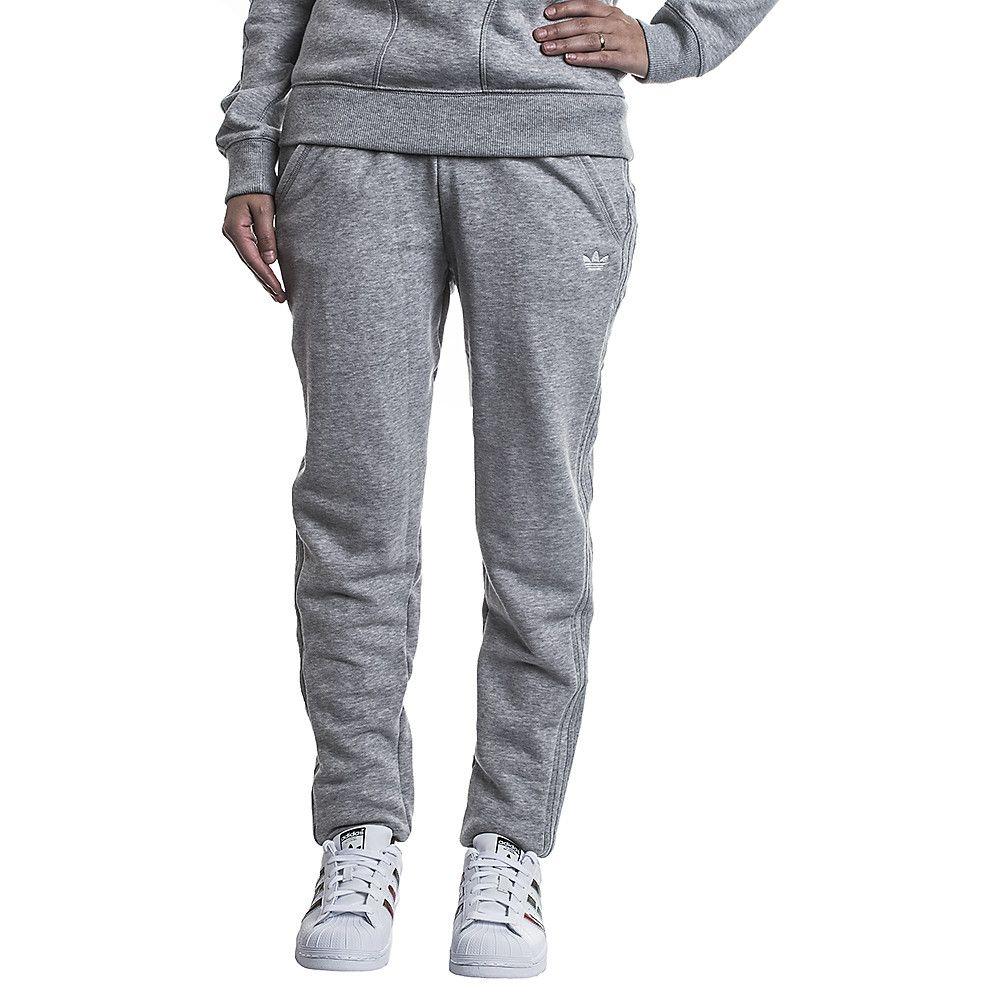 Women's Sweatpants Slim TP Cuffed Grey | Shiekh Shoes