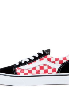 ca  cad babc   also preschool vans old skool black red checkerboard rh shiekh