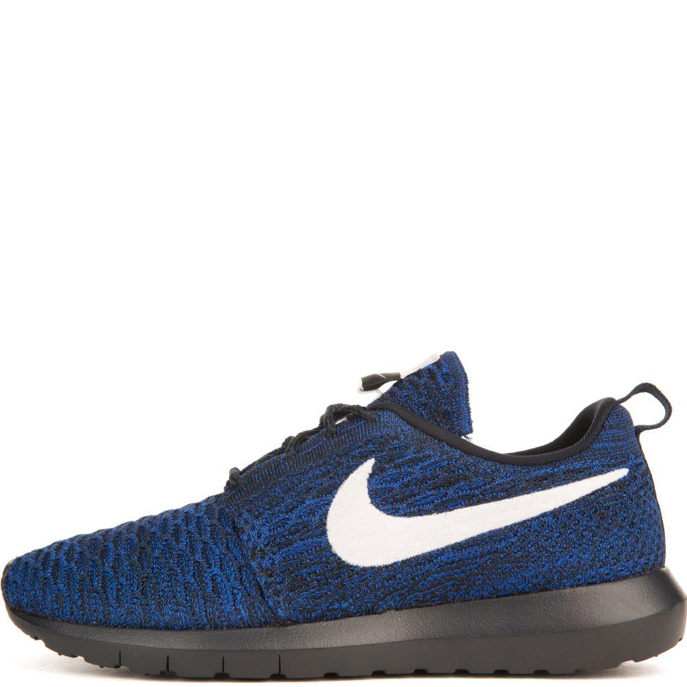 Nike WMNS NIKE ROSHE FLYKNIT NM Dark ObsidianRacer BlueWhite