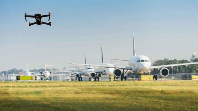 Havaalanlarındaki drone