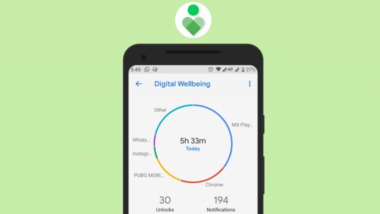 Google'ın Dijital Istikrar uygulaması için değişik özellik 2