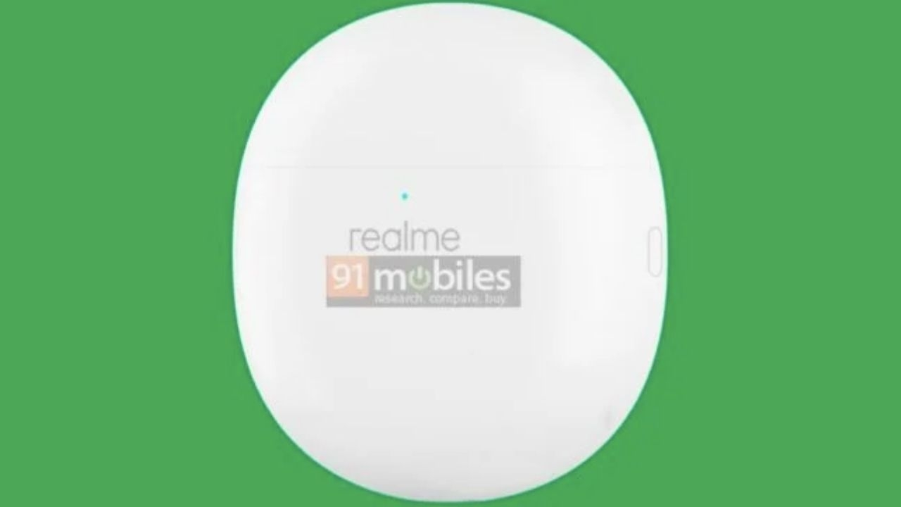 Karşınızda Realme Buds Air Pro şarj kutusu tasarımı 2