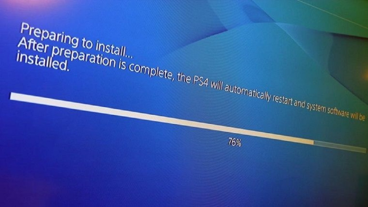 playstation 4 yazılım güncellemesi
