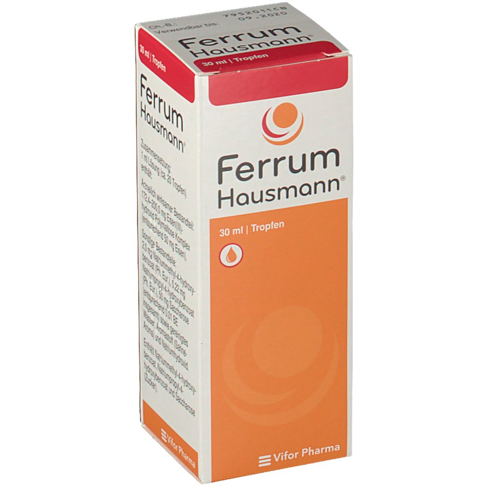 Ferrum Hausmann® Lösung - shop-apotheke.com