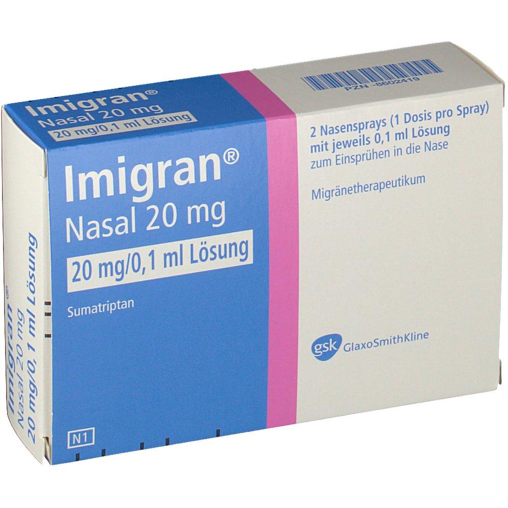 Imigran nasal 20 mg Nasenspray - shop-apotheke.com