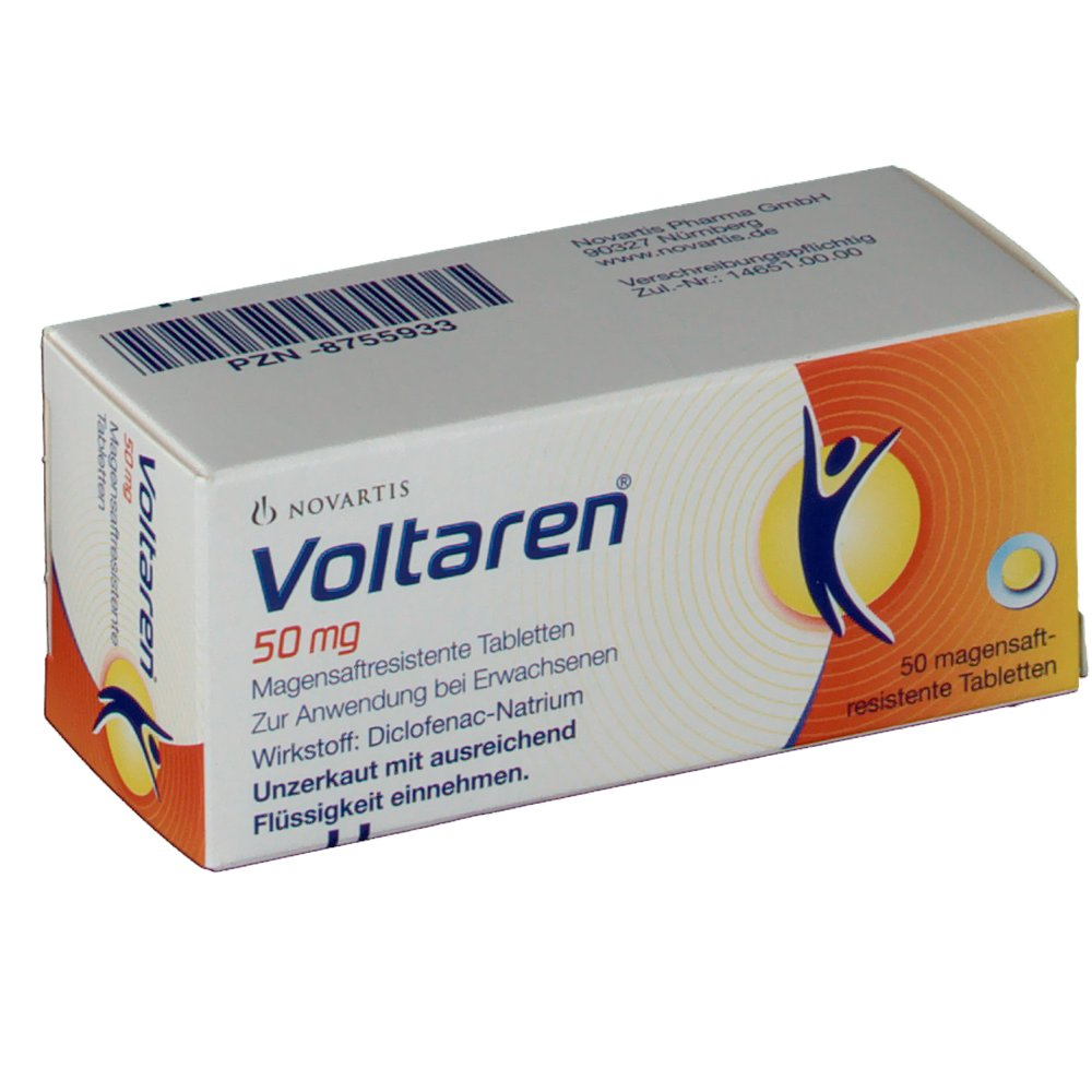 Voltaren 50 mg Tabletten - shop-apotheke.com