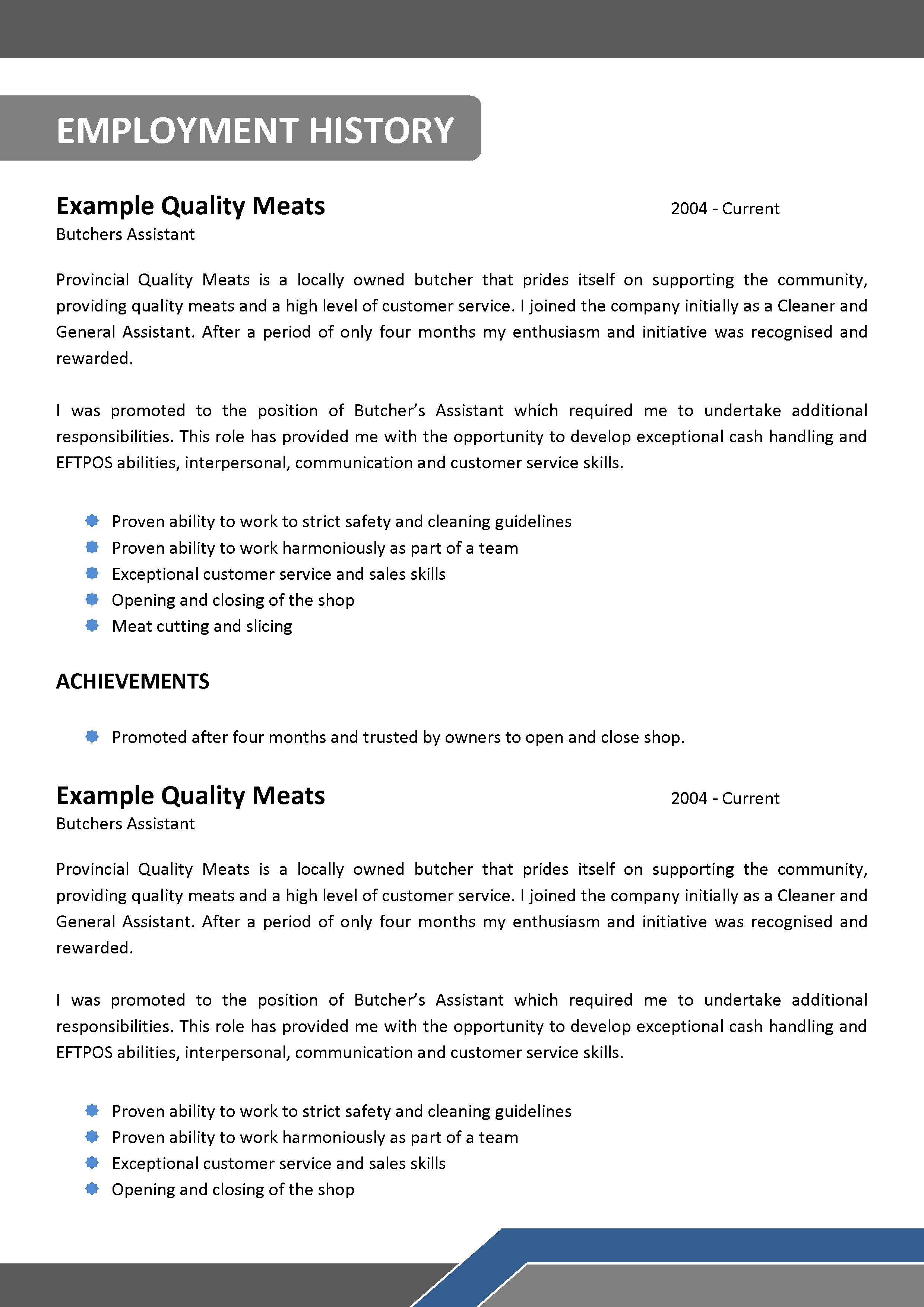 front cover resume template professional skills. apprentice ...