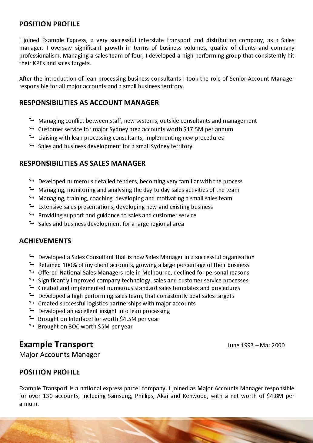 Resume Driver Resume Format Resume Templates Driver
