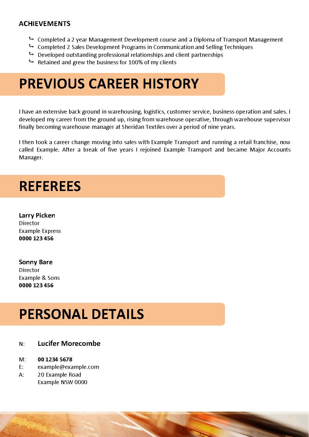 Truck Driver Resume Template We Can Help With Professional Resume Writing Resume