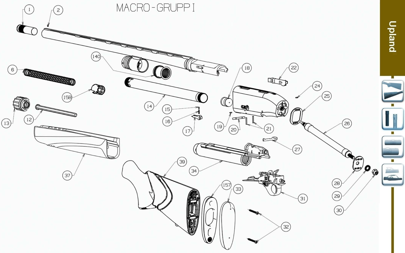 ruger ar 15 exploded diagram 2 way switch wiring lights breakdown imageresizertool com