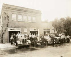 Bend's First Fire Department at 5 NW Minnesota Street.