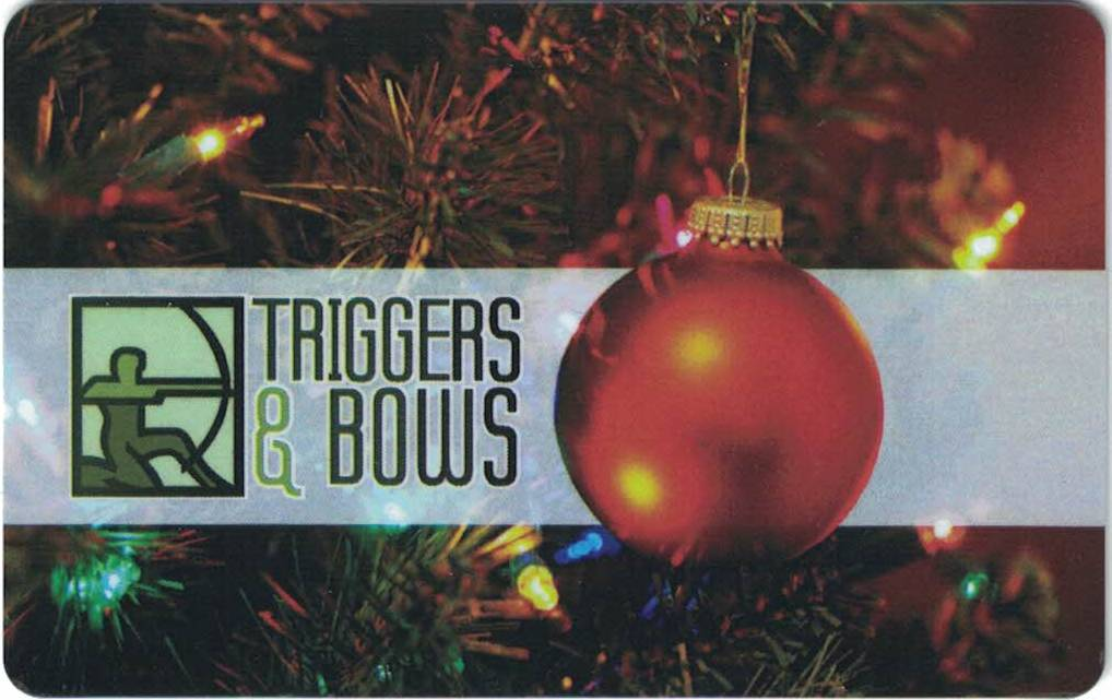 Triggers And Bows Gift Cards Triggers And Bows