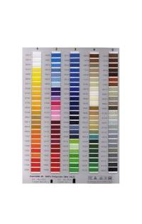 Isacord Color Thread Chart - SewingMachine.com