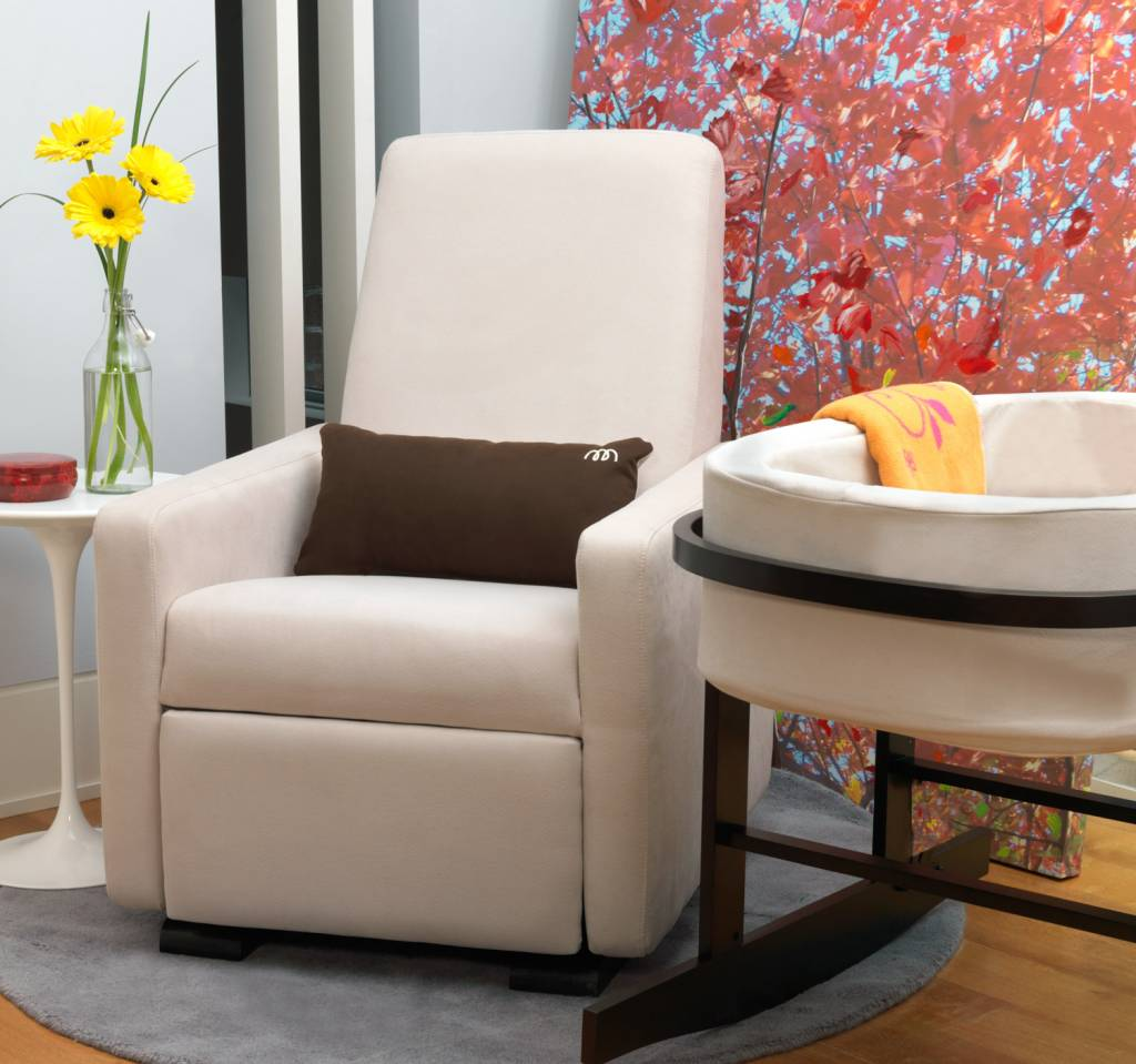 swivel chair victoria bc dining chairs with casters modern grano glider recliner by monte design in