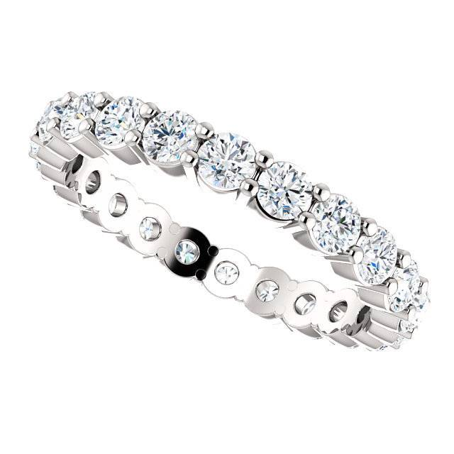 Shared Prong Diamond Eternity Band Freedman Jewelers