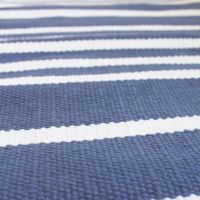 Cotton Stripe Rug - Rugs Ideas