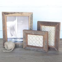 Reclaimed Wood Picture Frame 8x10 - AREOhome