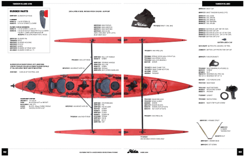 small resolution of hobie tandem island parts