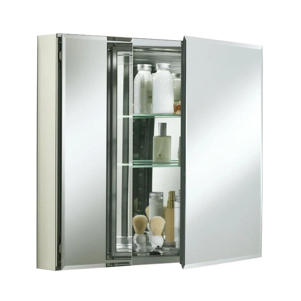 """Kohler KCBCLC3026FS 30"""" W x 26"""" H Aluminum Two Door"""
