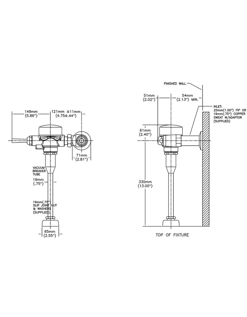 Commercial Toilet Flush Valve Wireing Diagram : 45 Wiring