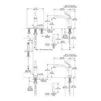Delta 1353 Linden Single Handle Kitchen Faucet Arctic ...