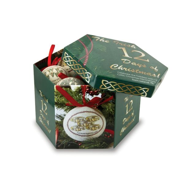 Ornaments Solvar 12 Days Of Christmas Ornament Set - Irish Crossroads