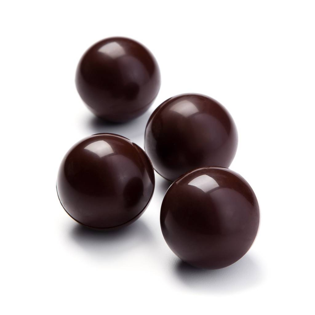 Chocolate marshmallow balls for hot chocolate 4